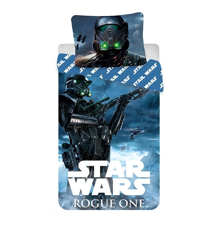 Star Wars Rogue One 2 részes pamut-vászon gyerek ágyneműhuzat