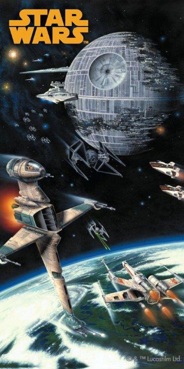 Star Wars Spaceship pamut törölköző 75x150 cm