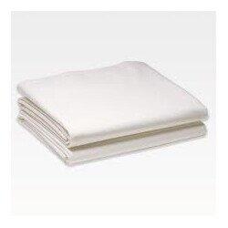Pamut-vászon fehér lepedő 220x240 cm
