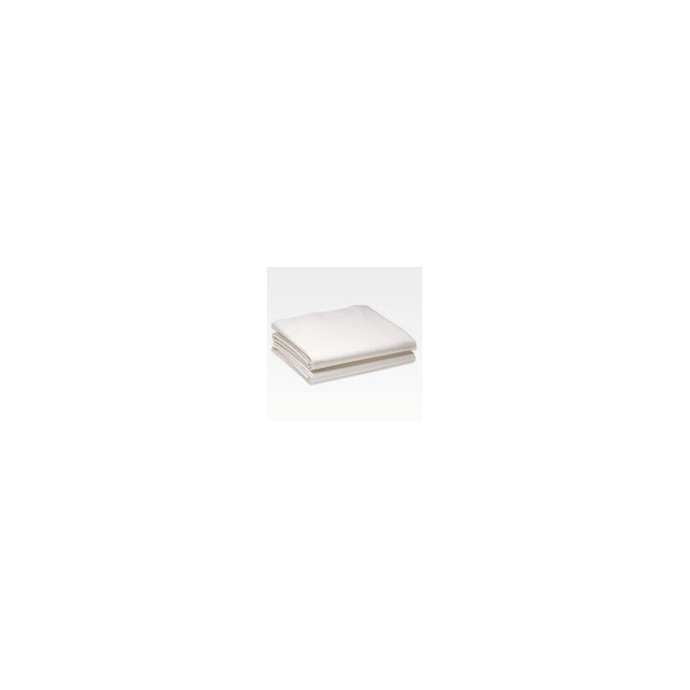 Pamut-vaszon feher lepedo 220x240 cm