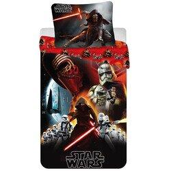 Star Wars VII 2 részes pamut-vászon gyerek ágyneműhuzat