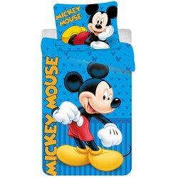 Mickey Egér Blue 2 részes pamut-vászon ágyneműhuzat