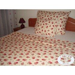 Rózsás 3 részes pamut ágyneműhuzat