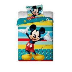 Mickey Egér Tyrkys 2 részes Disney pamut-vászon gyerek ágyneműhuzat