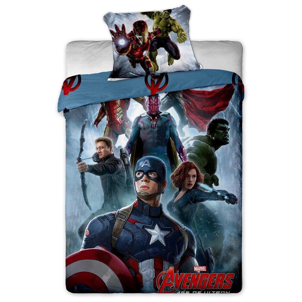 Avengers 2 reszes pamut-vaszon agynemuhuzat
