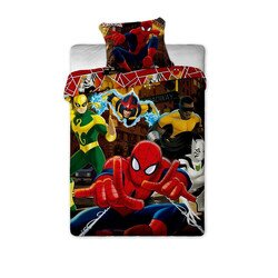 Spiderman hero 2 reszes pamut-vaszon gyerek agynemu