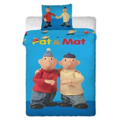 Kétbalkezesek 2 részes pamut-vászon gyerek ágynemű