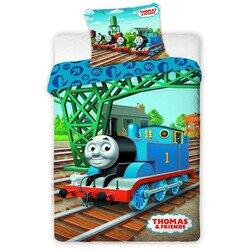 Thomas a gőzmozdony 2 részes pamut-vászon gyerek ágyneműhuzat