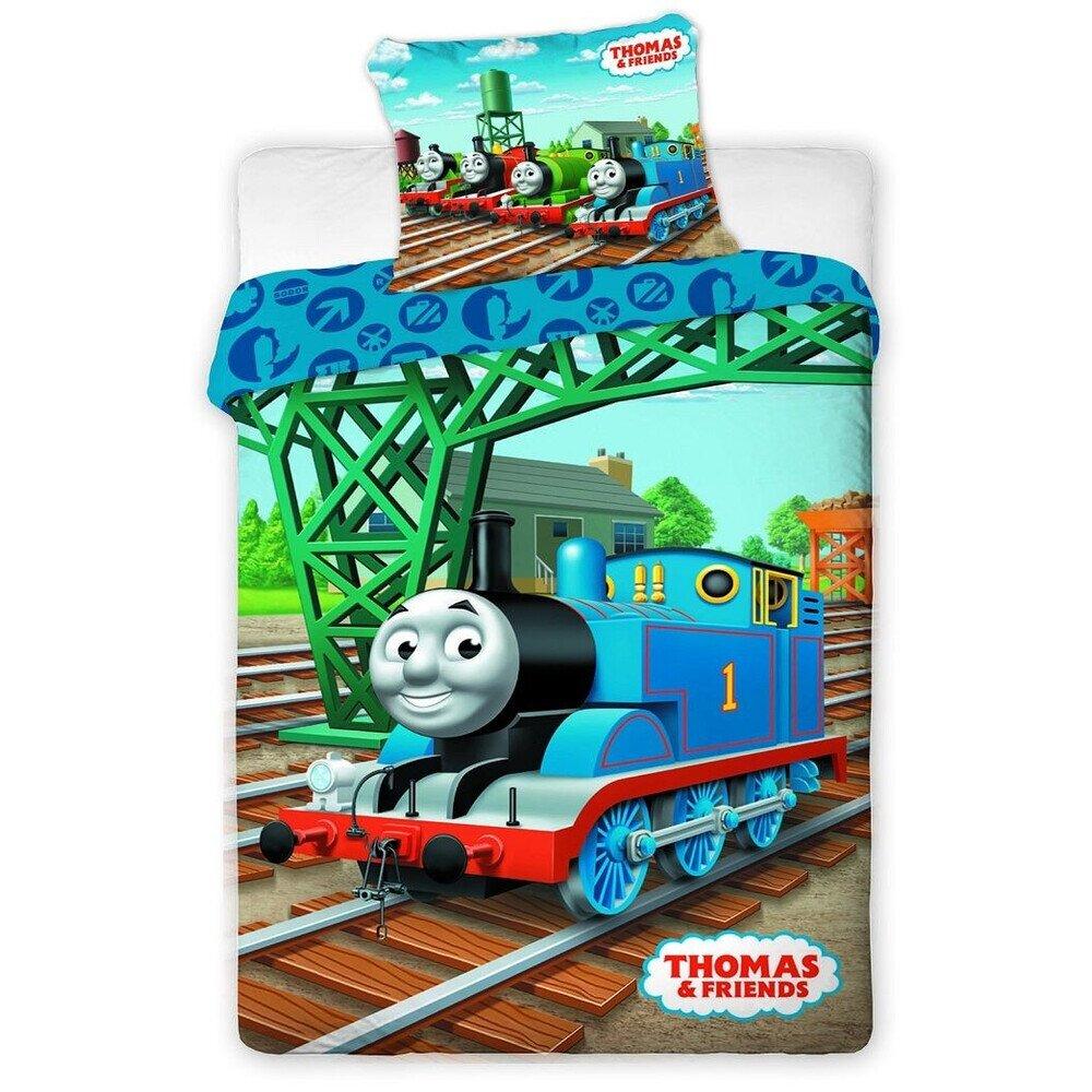 Thomas a gozmozdony 2 reszes pamut-vaszon gyerek agynemuhuzat