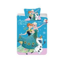 Jégvarázs blue 2 részes Disney pamut-vászon gyerek ágynemű