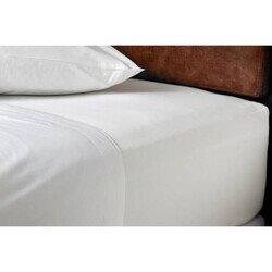 Pamut fehér lepedő 160x200 cm