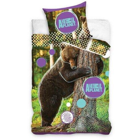 Medves 2 reszes pamut-vaszon agynemuhuzat