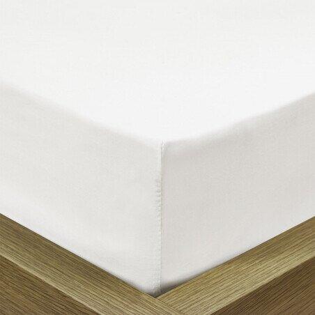 Gyermek Jersey feher gumis lepedo 90-100x190-200 cm