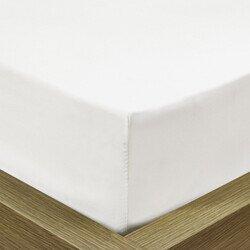 Pamut Jersey fehér gumis lepedő 130x140x200 cm