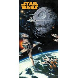 Star Wars Space pamut torolkozo 75x150 cm