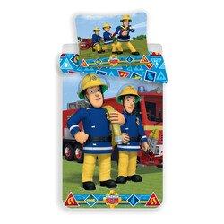 Sam a tűzoltó II 2 részes pamut-vászon gyerek ágyneműhuzat