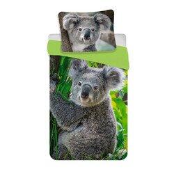 Koala 2 részes pamut-vászon gyerek ágyneműhuzat