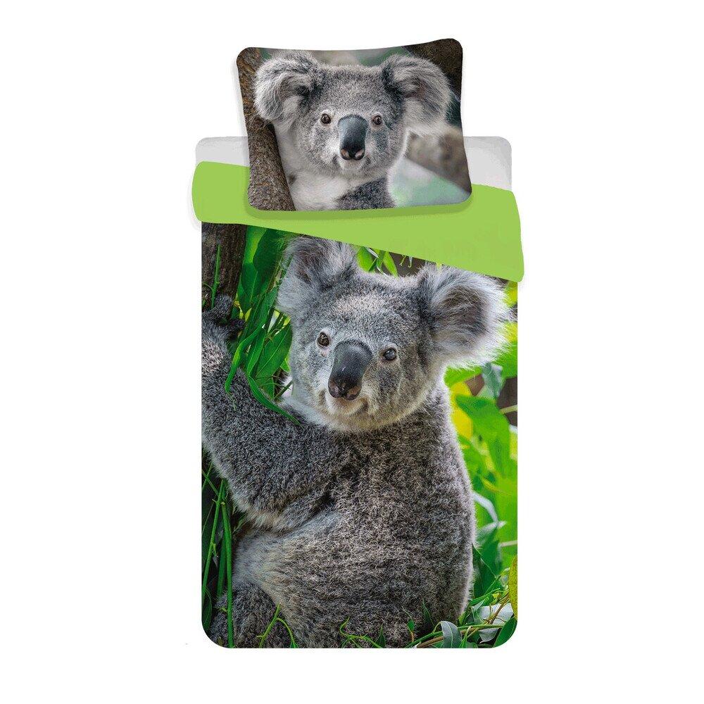 Koala 2 reszes pamut-vaszon gyerek agynemuhuzat
