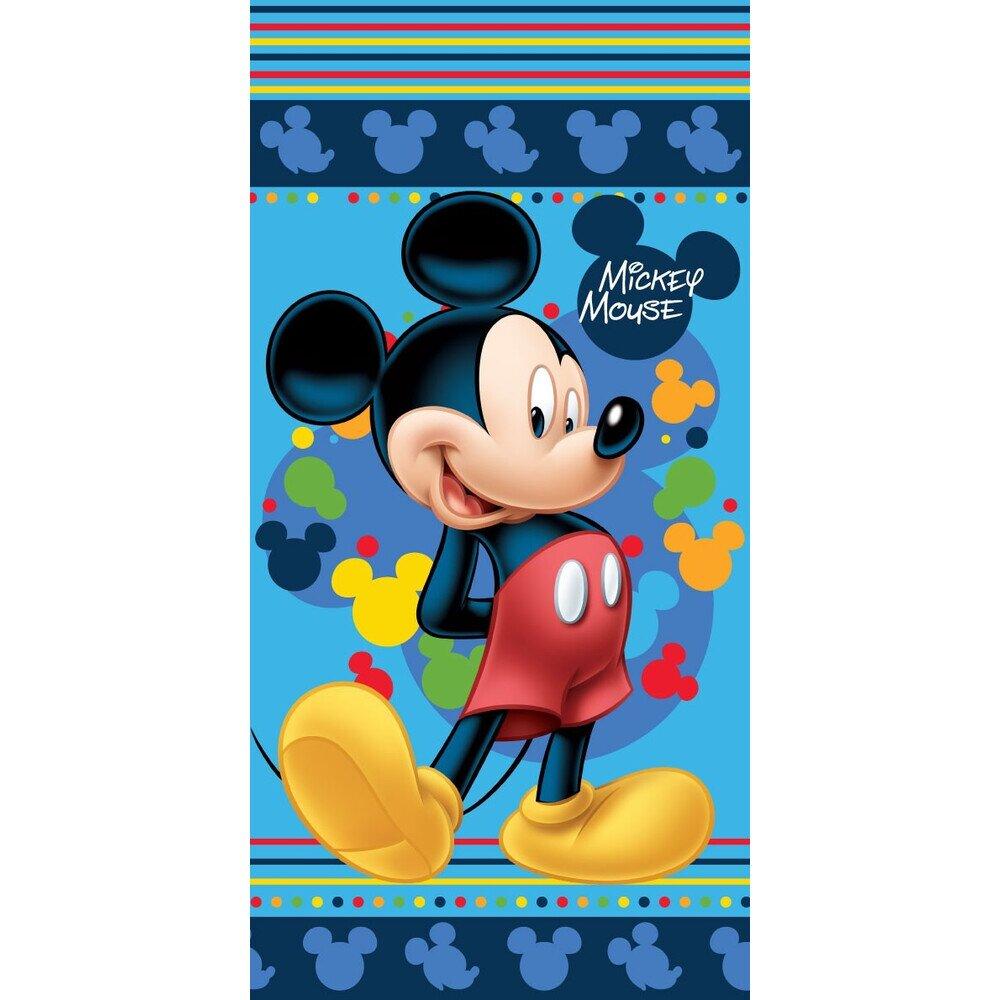 Mickey blue pamut torolkozo 70x140 cm