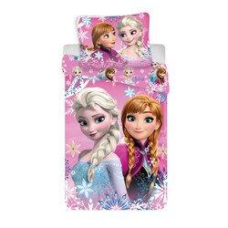 Jégvarázs nővérek 2 részes Disney pamut-vászon gyerek ágyneműhuzat