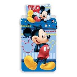 Mickey eger hello 2 reszes pamut-vaszon gyerek agynemu