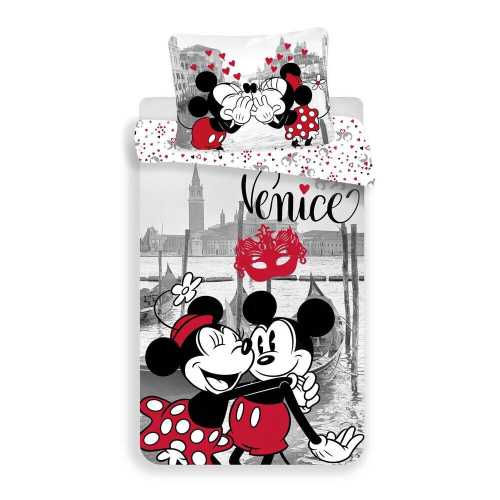 Mickey es Minnie eger Velenceben 2 reszes pamut-vaszon gyerek agynemu