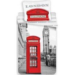 London 2 részes pamut-vászon gyerek ágyneműhuzat