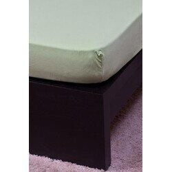 Pamut Jersey kiwi gumis lepedő 200x200 cm