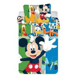 Disney Mickey eger és baratai ovis 2 reszes pamut-vaszon agynemu