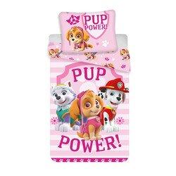 Disney Mancs őrjárat pup power 2 részes pamut-vászon gyerek ágyneműhuzat