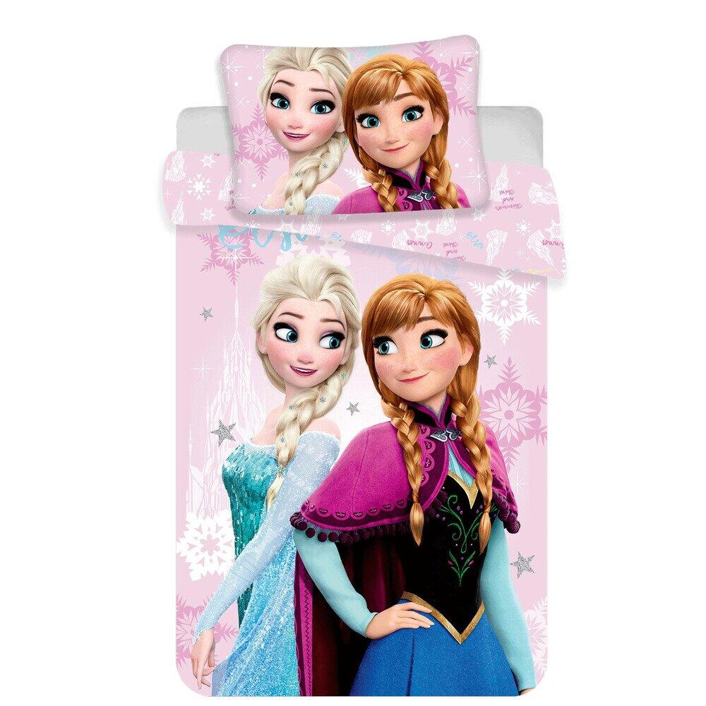 Disney Jegvarazs pink 2 reszes pamut-vaszon ovis agynemuhuzat