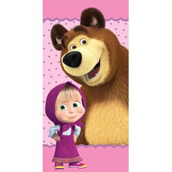 Masa es a medve pamut torolkozo 70x140 cm