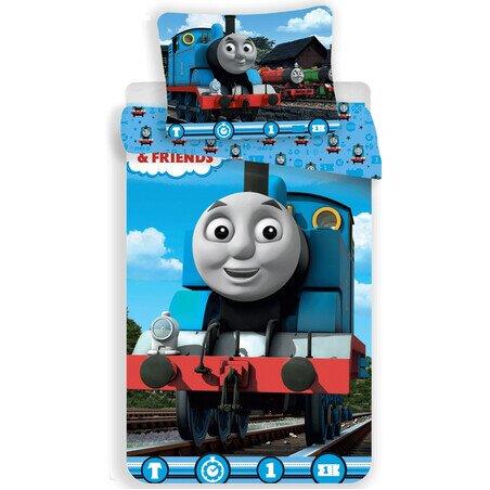 Thomas a gozmozdony T1 2 reszes pamut-vaszon gyerek agynemu