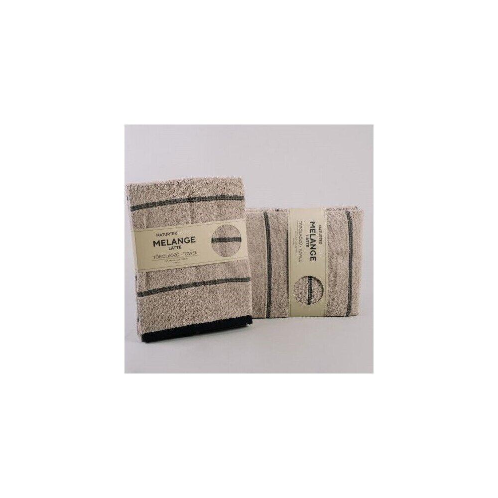 Melange Latte pamut torolkozo 70x140 cm