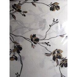 Virágos 3 részes pamut-szatén ágyneműhuzat
