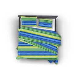 Lime pamut szatén 3 részes ágyneműhuzat