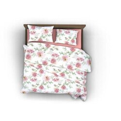 Pink Rose pamut szatén 3 részes ágyneműhuzat