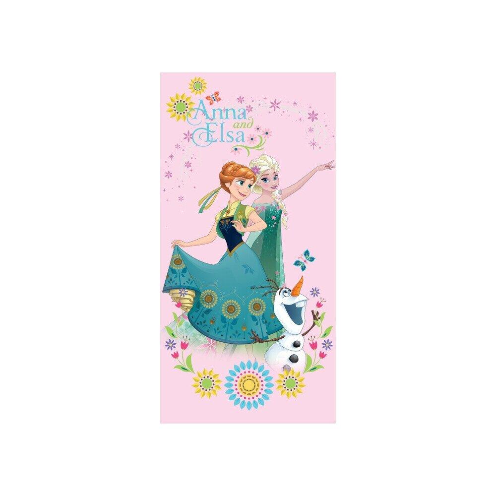 Disney Jegvarazs pink pamut torolkozo 70x140 cm