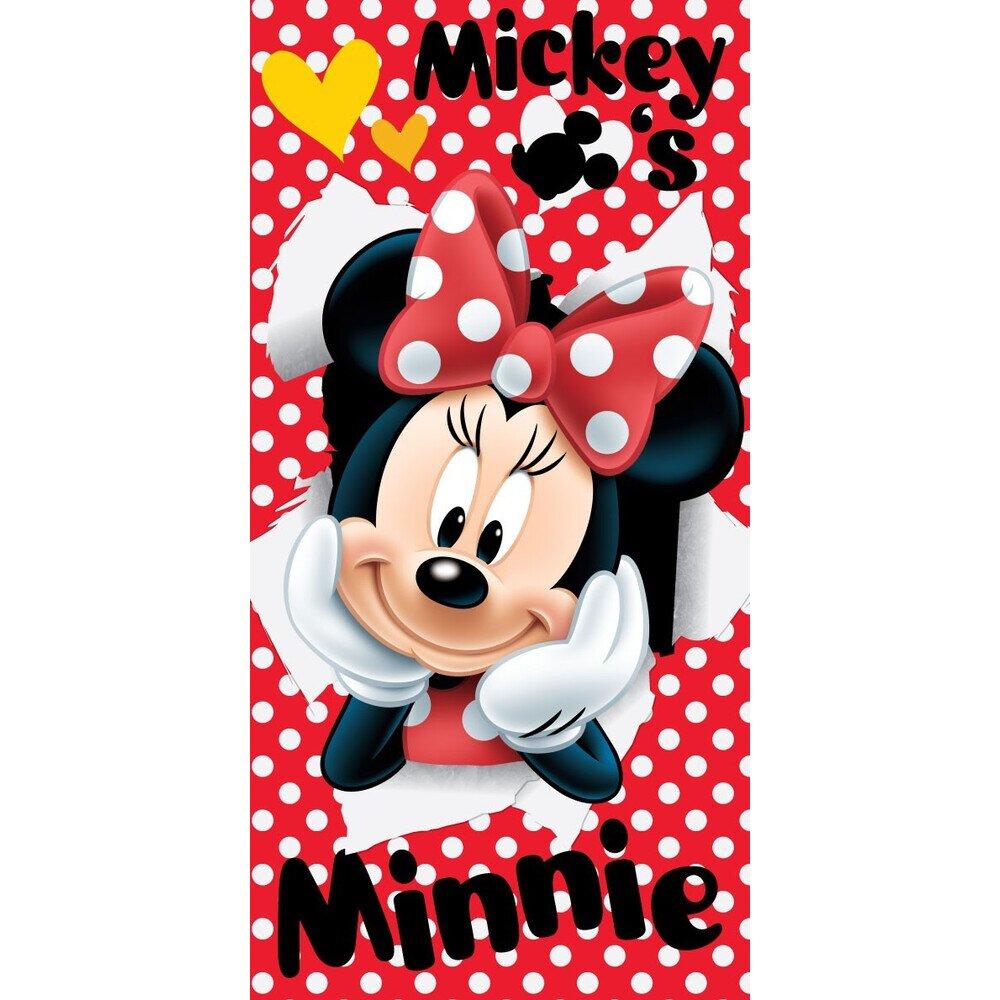 Disney Minnie eger red pamut torolkozo 70x140 cm
