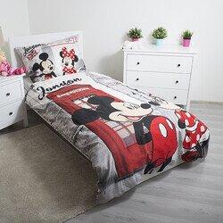 Minnie és Mickey egér Londonban 2 részes Disney pamut-vászon gyerek ágyneműhuzat