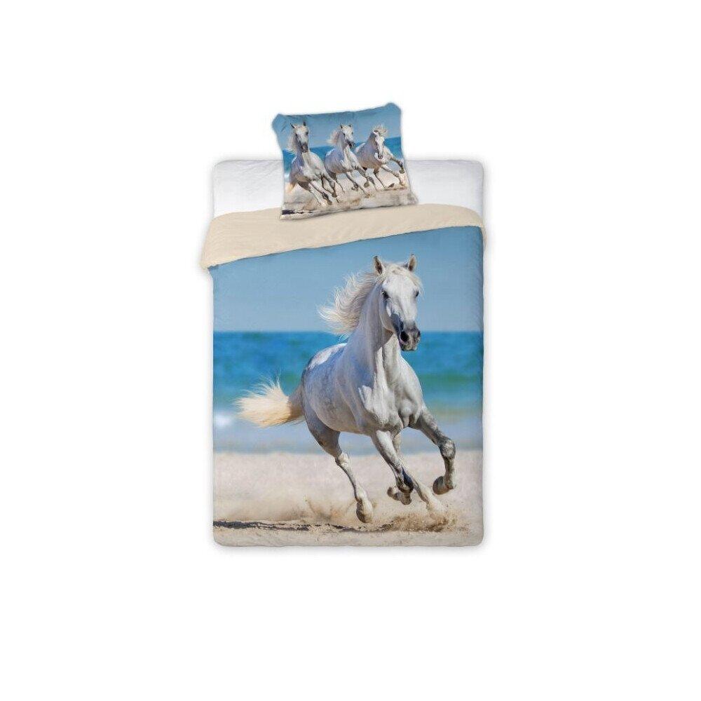 Deres lovak a tengerparton 2 reszes pamut-vaszon agynemuhuzat