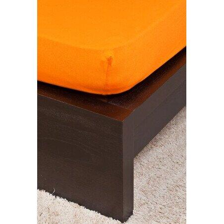 Gyermek Jersey narancs gumis lepedo 70x140 cm