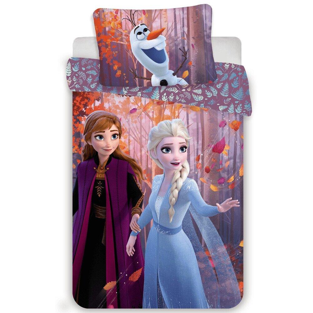 Jegvarazs 2 sister purple 2 reszes Disney pamut-vaszon gyerek agynemu 70x90 cm parnahuzattal
