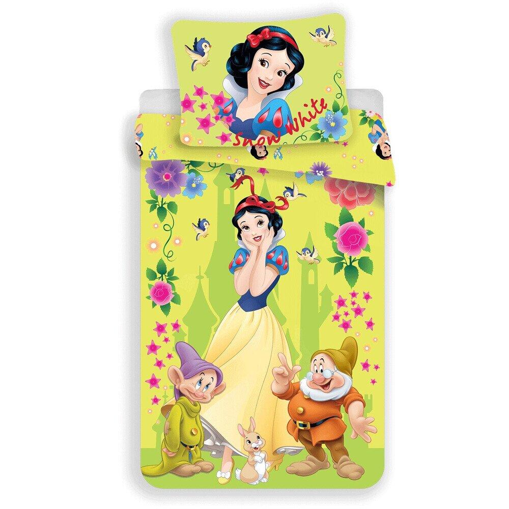 Hófehérke 2 részes Disney pamut-vászon gyerek ágynemű