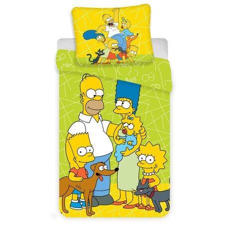 Simpson család 2 részes Disney pamut-vászon gyerek ágynemű