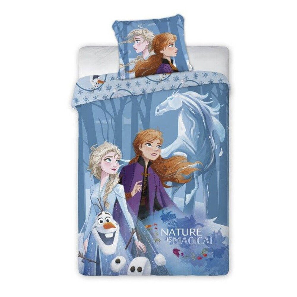 Jégvarázs frozen 2 Disney pamut-vászon gyerek ágyneműhuzat 140x200