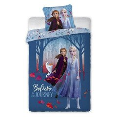 Jégvarázs frozen 2 journey Disney pamut-vászon gyerek ágyneműhuzat 140x200