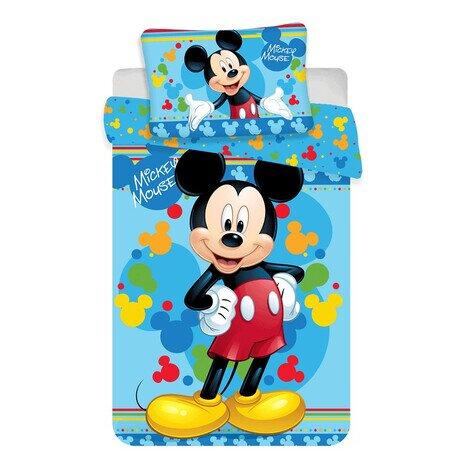 Disney Mickey eger 02 ovis 2 reszes pamut-vaszon agynemu