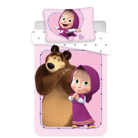 Disney Masa es a medve ovis 2 reszes pamut-vaszon agynemu
