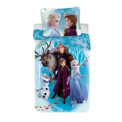 Jegvarazs family 2 reszes Disney pamut-vaszon ovis gyerekagynemu